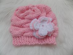 Crochet Baby Beanie Newborn Knit Hats 61 Ideas For 2019 Newborn Knit Hat, Crochet Baby Beanie, Baby Blanket Crochet, Baby Knitting, Hat Crochet, Knit Beanie, Baby Girl Beanies, Baby Beanie Hats, Crochet Christmas Gifts