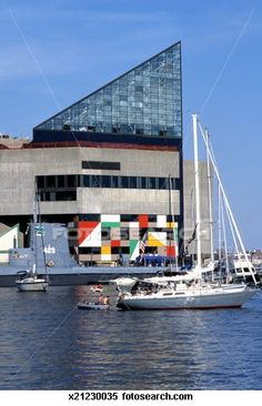 Torsk and National Aquarium at the Inner Harbor, Baltimore, Maryland, USA Stock Photography Great Places, Places To See, Places Ive Been, Baltimore Maryland, Visit Maryland, Baltimore Aquarium, Mid Atlantic States, Photo Clipart, West Virginia