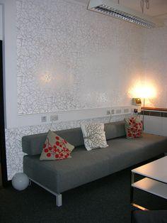 Fashion Retail Head Office, London. Angles - Silver White.