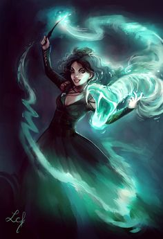 Bellatrix Lestrange by Ludmila-Cera-Foce on DeviantArt