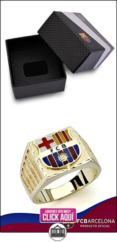 Sello escudo F.C. Barcelona oro de ley 9k caballero cartier [8457] - Modelo: 0510-172  ✿ Joyas para hombres especiales - lujo ✿ ▬► Ver oferta: http://comprar.io/goto/B01M18JSHX