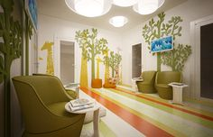 Interior Design of Pediatric Dentistry on Behance