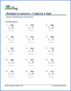 Fun Math Worksheets For 5th Grade Pdf One Digit Multiplication Worksheets   Worksheets  Pinterest  Writing Short Story Outline Worksheets with Volume Of Prisms And Cylinders Worksheet Answers Grade  Multiply In Columns Worksheet Multiplying Digit By Digit  Summer Worksheetsfree Math  Energy Conversion Worksheets Word