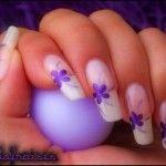 acrylic flower nail art 2014 150x150 Acrylic Nail Ideas for your Appeal