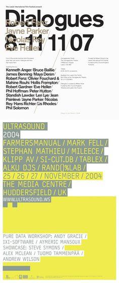 Dialogues, Ultrasound 2004