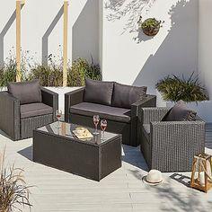 Orlando 4 Piece Sofa Set | Home & Garden | George