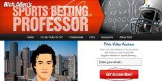 Rich Allen Sports Betting Professor Review