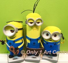 Minions- made by Only 1 Art Centre