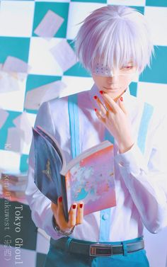 Kaneki ken 東京喰種√A - Takuwest(沢西) Ken Kaneki Cosplay Photo - Cure WorldCosplay