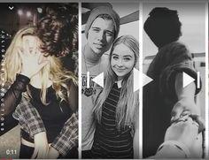 They are so cute together. Uriah Shelton/Sabrina Carpenter/Maya Hart/Josh Matthews/Joshaya ❤❤