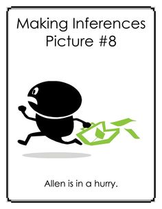 FREE Inference Carousel: Making Inferences with Pictures and Captions - 32 pages.   Activity Includes:  Teacher Instructions 15 Images and Captions * Response Handouts for Lessons * List of Possible Responses * Additional Inference Carousel Activity * Template for Student Inference Pictures
