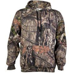 Mossy Oak Men's Fleece Pullover Hooded Sweatshirt, Size: 3XL, Green