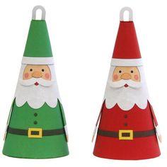 Christmas-tree Ornaments (Santa Claus),Home and Living,Paper Craft,Christmas,Christmas Tree,ornament,decoration,tree,Santa Claus