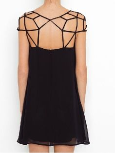 i love how unique the top of this dress is.