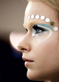 Backstage at Miu Miu F/W 2012