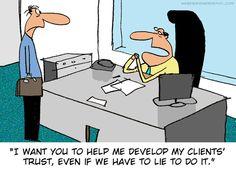 La confianza en la empresa