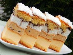 Ukrainian Recipes, Russian Recipes, Traditional Cakes, Cheesecakes, Food Hacks, Amazing Cakes, Vanilla Cake, Cake Recipes, Food And Drink