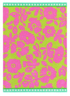 Heal's | Designers Guild Daisy Patch Peony Rug