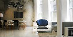 CAPPELLINI Peacock armchair by Dror