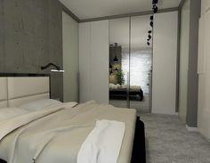 Szafa lustrzna w sypialni
