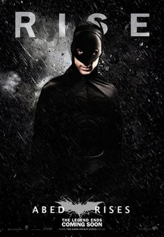Haha this is awesome! Community-Meets–Dark Knight Rises Poster!!!