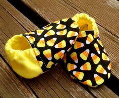 Candy Corn Halloween Fall Baby and Toddler Crib by WithinThePines
