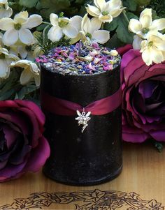 Dark Faerie Pillar Candle 2x3 . Faerie Workings, Celtic Magic, Shadow Works, Enhancing Visions on Etsy, $11.95