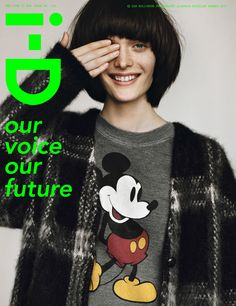Hair, no make-up, Mickey mouse and Saint Laurent.Sam Rollinson by Alasdair McLellan, perfect combo for a fashion cover Fashion Magazine Cover, Fashion Cover, Magazine Covers, Fashion Fashion, Disney Fashion, Fashion Editorials, Fashion Clothes, Fashion Trends, Id Cover