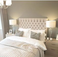 best ideas white and grey bedroom furniture texture Grey Bedroom Decor, Grey Bedroom Furniture, Trendy Bedroom, Home Bedroom, Master Bedroom, Bedroom Ideas, Furniture Sets, Furniture Design, Furniture Movers