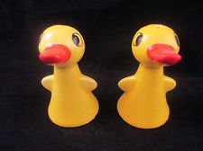 Vintage GOEBEL Yellow Duck Salt & Pepper Shakers bottom marked 1959