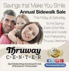 Annual Sidewalk Sale going on today and tomorrow!