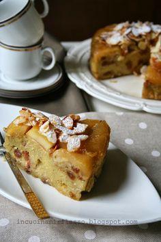 torta di pane di Matera con mele caramellate