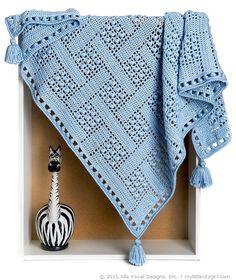 Dream Catcher crochet blanket (pattern for purchase)