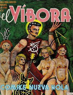 El Vibora 12 portada de Ceesepe