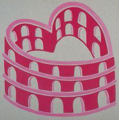 Cuore Colosseo-Coliseum heart