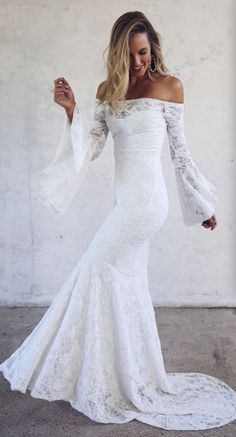 Courtesy of Grace Loves Lace wedding dresses #laceweddingdresses