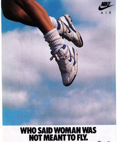 """Nike """"Air Force Women's Basketball Shoe Print Advertisement - The basketball and sportswear culture had a huge influence on footwear during the Branding was also a big trend. Bedroom Wall Collage, Photo Wall Collage, Picture Wall, Aesthetic Collage, Aesthetic Vintage, Poster Wall, Poster Prints, Room Posters, Mode Poster"""