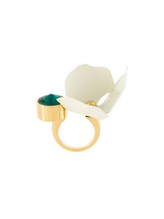 Shop Marni floral ring.