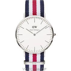 Men's Daniel Wellington Canterbury Silver 40mm Watch