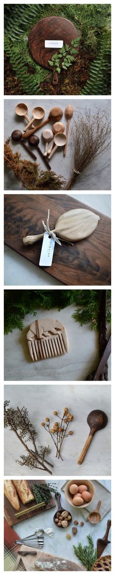 Austin Woodworker C.Muire Handmade Cutting Boards Hand-carved Spoons