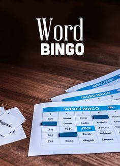 Bingo is a popular game all over the world. Word Bingo is a fun variation on the traditional game.