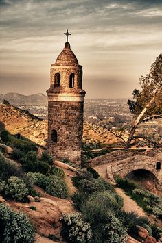 Mt. Rubidoux, Riverside, CA, rode my cousin's horses up this mountain, walked up for Easter sunrise services, ran in 5k races, watched the 4th fireworks from here