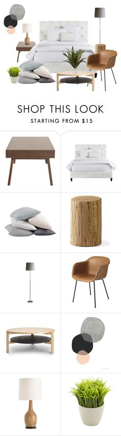 My final Project, college stuff by cici-munada on Polyvore featuring interior, interiors, interior design, home, home decor, interior decorating, Bloomingdale's, Umbra, Arteriors and Coyuchi