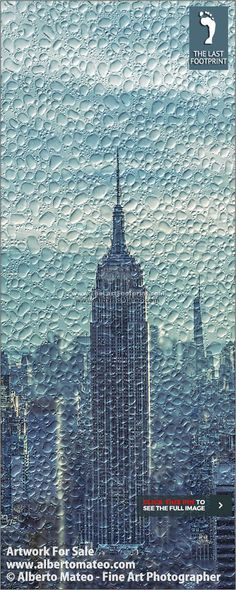 """""""NEW YORK THROUGH THE RAIN"""" Series, ARTWORK FOR SALE 