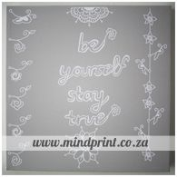 be yourself, stay true (grey) Stay True, Chalkboard Quotes, Art Quotes, Canvas Prints, Grey, Design, Home Decor, Gray, Decoration Home