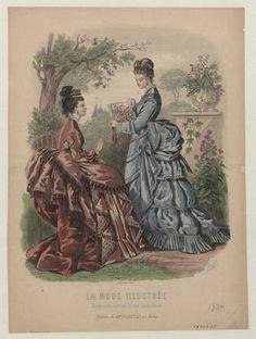 1874 La Mode Illustree