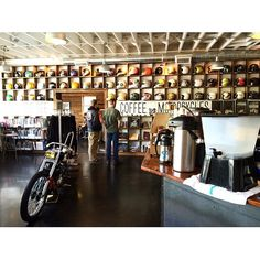 Portland's own SeeSee Motorcycle & Coffee Co