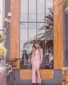 """4,197 curtidas, 33 comentários - Luíza Maria Holanda de Mello (@lulymello) no Instagram: """"Light pink long dress 🌸💖"""""""