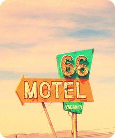 vintage hotel signs