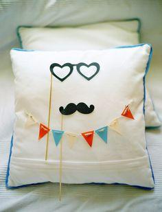 Cute ring pillow